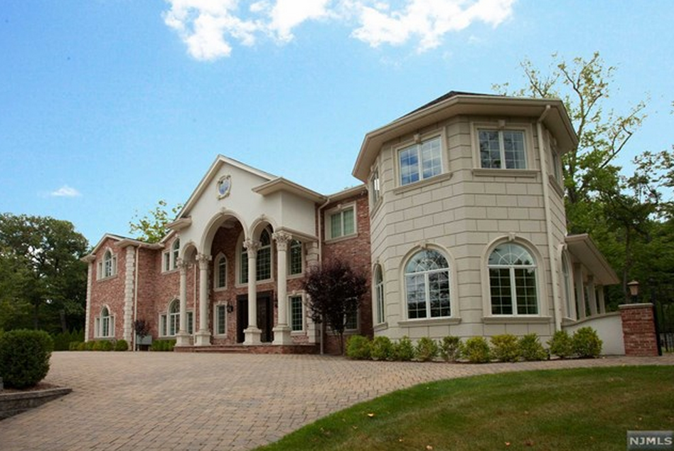 13,500 Square Foot Brick Colonial Mansion In Englewood, NJ