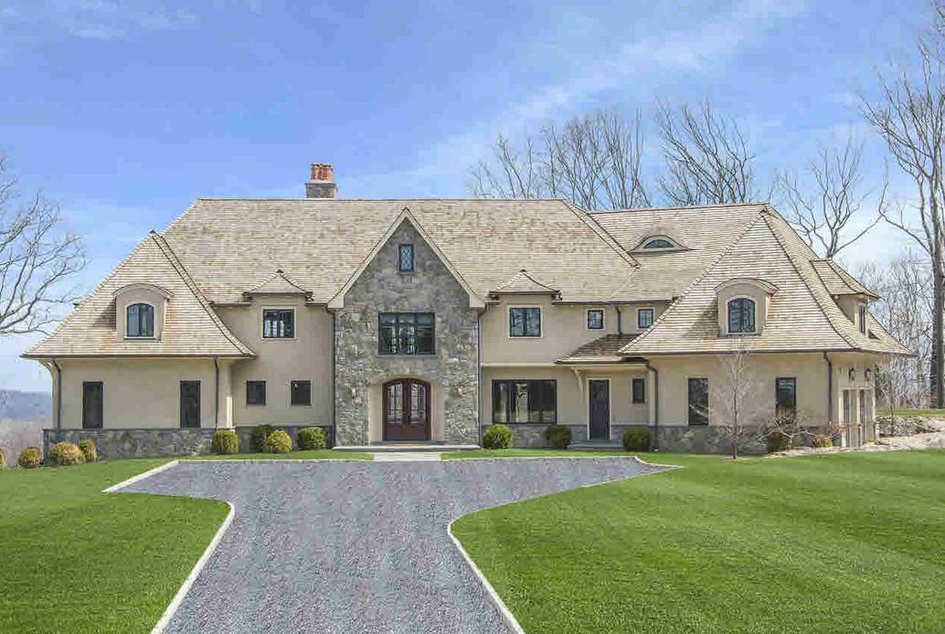 $3.995 Million Newly Built Stone & Stucco Mansion In Mount Kisco, NY