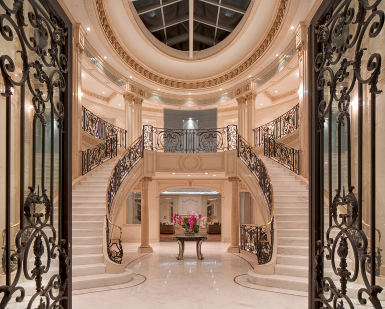 72 million 28 000 square foot french chateau mega mansion for 901 salon prices
