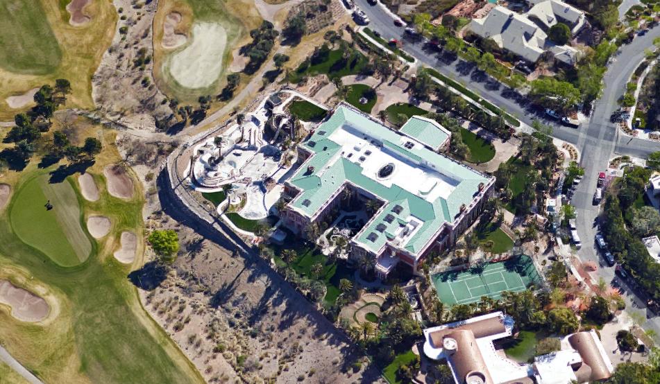 Aerial Pics Of Billionaire Sheldon Adelson S 44 000 Square