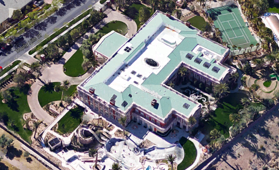 Aerial Pics Of Billionaire Sheldon Adelson S 44 000 Square