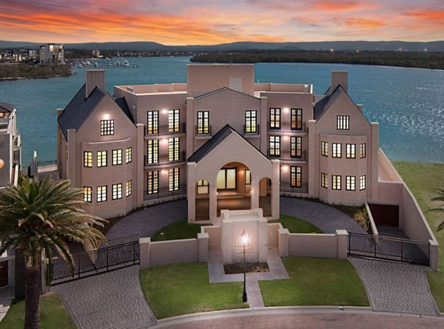 26,000 Square Foot Mega Mansion In Queensland, AU Re-Listed For $11 Million