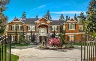$4.1 Million Newly Built Shingle & Stone Home In Bellevue, WA