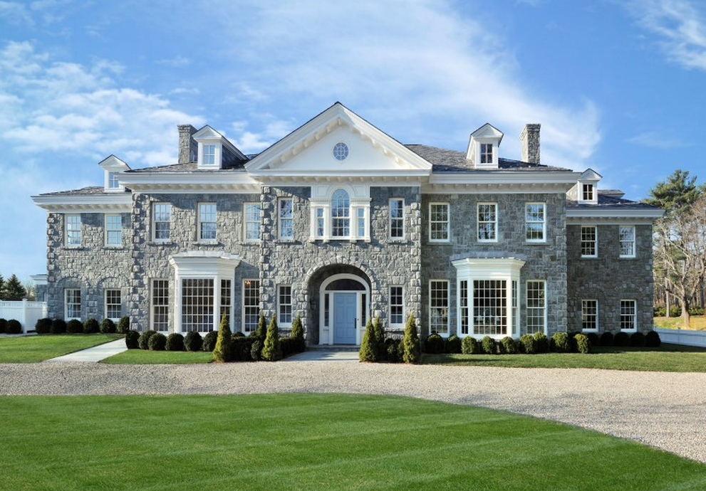 10 2 Million Georgian Colonial Mansion In Greenwich Ct