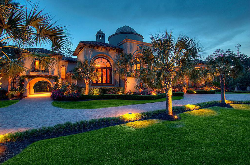 5 95 Million Mediterranean Mansion In The Woodlands Tx