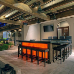 Covered Patio w/ Wet Bar