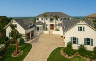 $5.995 Million Newly Built Indies-Inspired Oceanfront Mansion In Vero Beach, FL