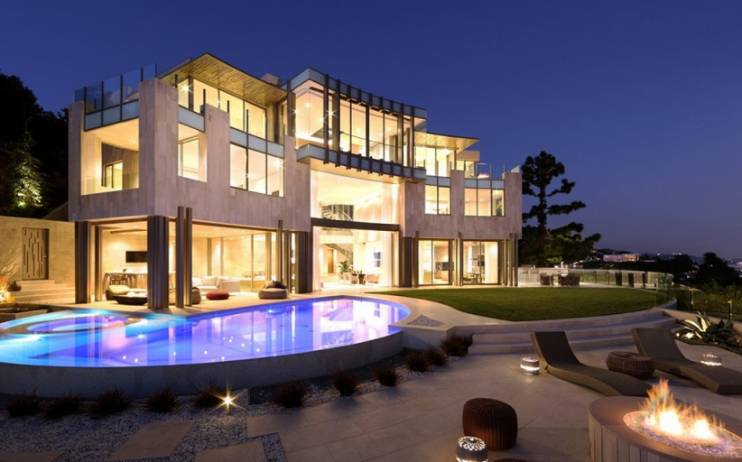Full House Creator Re-Lists Contemporary Los Angeles Mansion For $38 Million