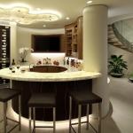Wet Bar & Wine Cellar