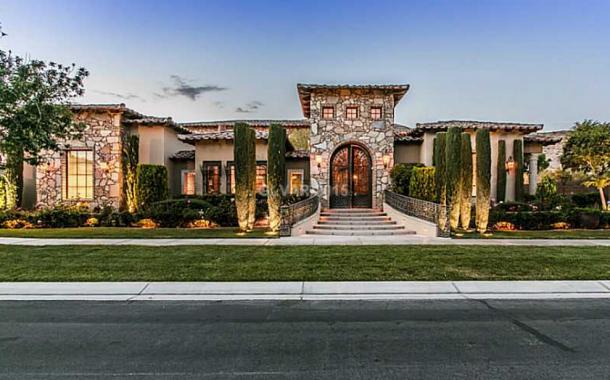 $4.275 Million Tuscan Style Home In Las Vegas, NV