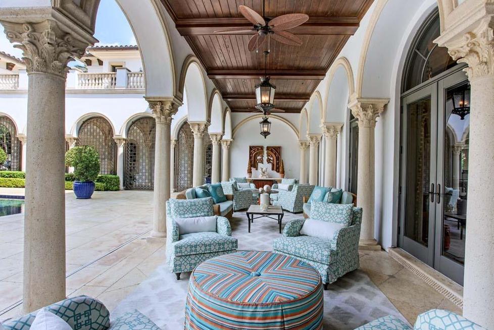 19 975 Million Mediterranean Oceanfront Mansion In Delray