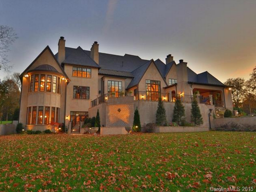 4 595 Million English Country Stucco Mansion In Charlotte