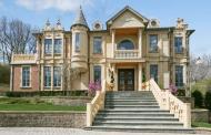 $3.499 Million Brick & Limestone Home In Burr Ridge, IL