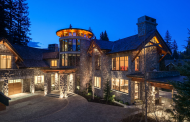 $22 Million Mountaintop Stone Mansion In Whistler, Canada