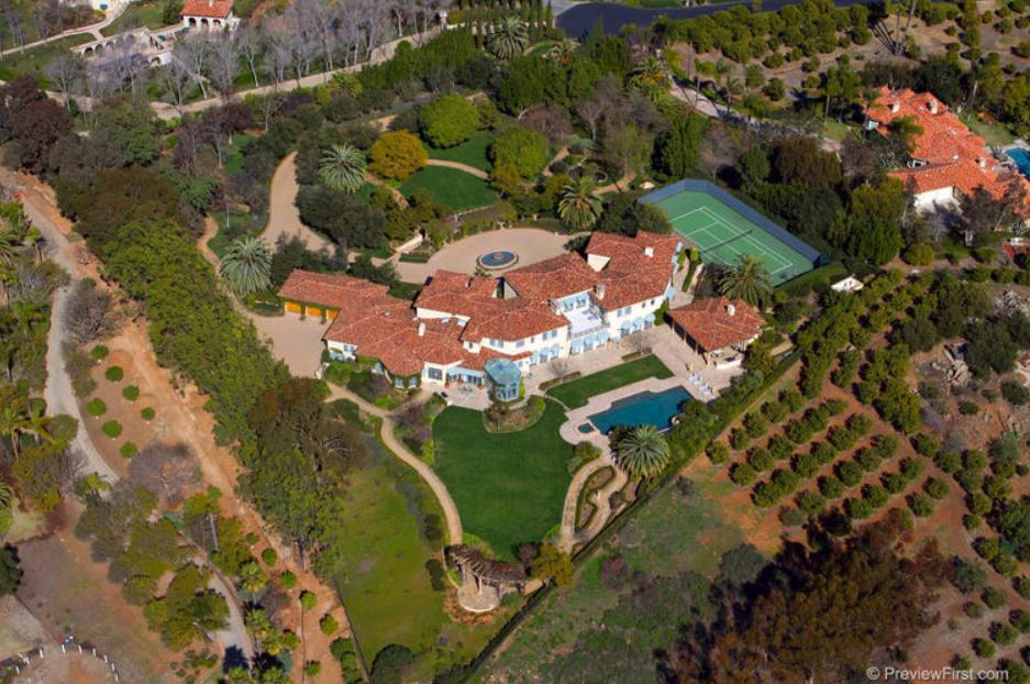 Summerhill Estate - A $9.995 Million Mediterranean Estate In Rancho Santa Fe, CA