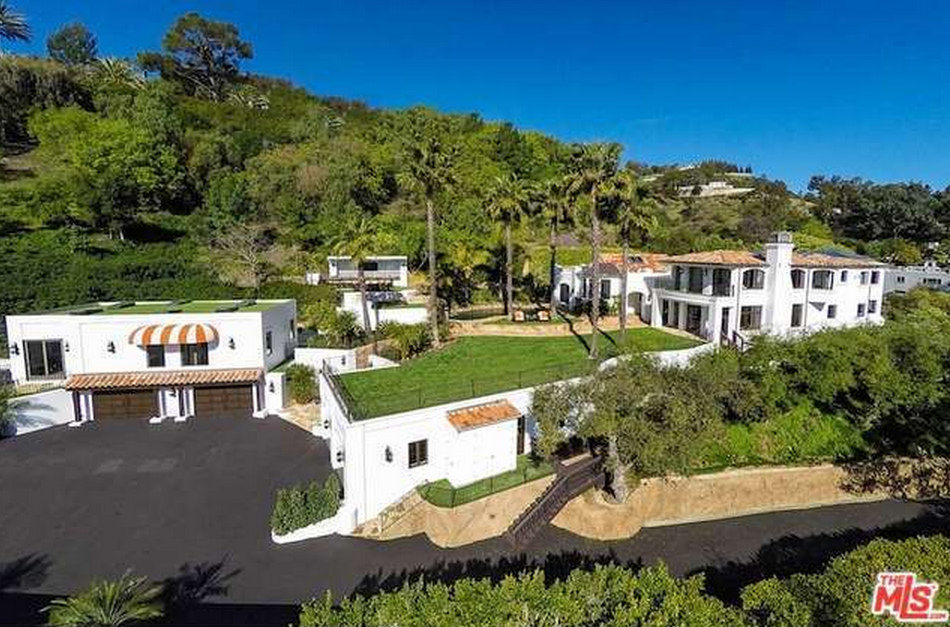 $24 Million Newly Listed Mediterranean Estate In Beverly Hills, CA