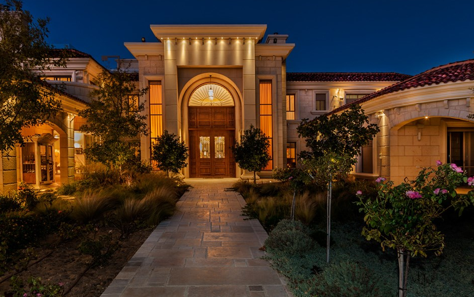 17 000 Square Foot Palatial Limestone Mansion In Caesarea