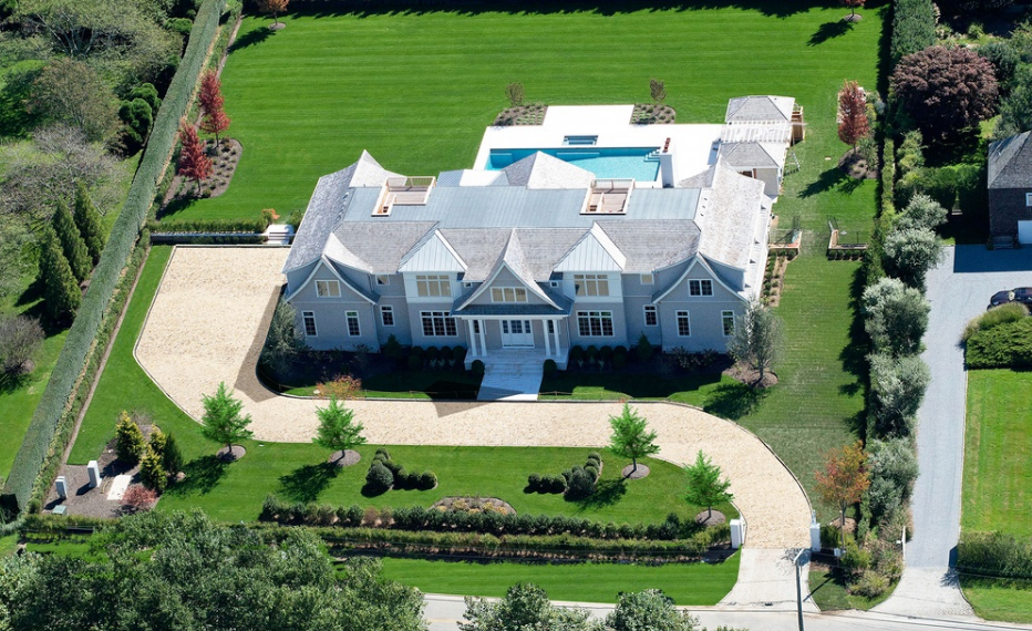$12.9 Million Newly Built Shingle Style Mansion In Bridgehampton, NY