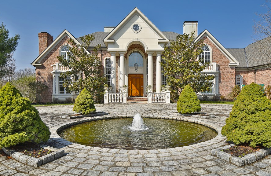 3 5 million brick mansion in princeton nj homes of the House builders nj