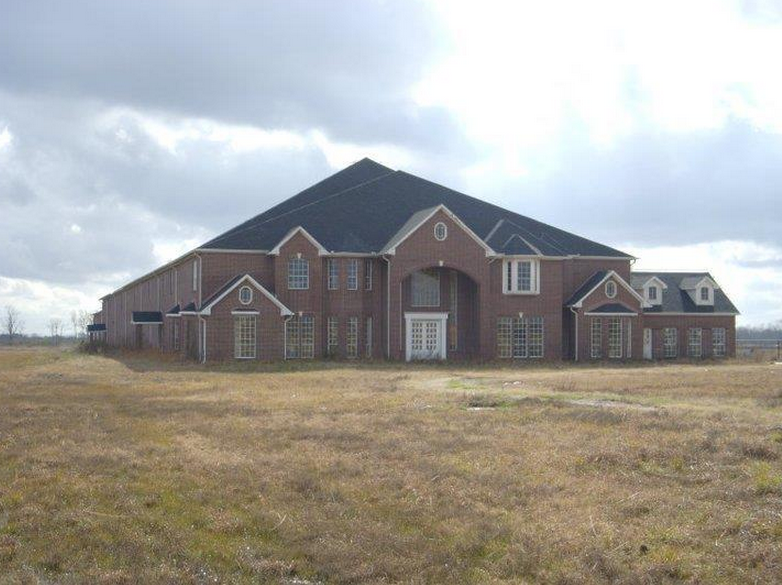 The ugliest weirdest looking 60 000 square foot mega for Home building cost per square foot texas
