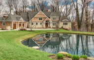 $3.6 Million Stone & Cedar Mansion In Hunting Valley, OH