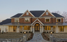 $2.75 Million Newly Built Stone & Shingle Mansion In McLean, VA
