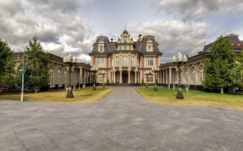 $25 Million Newly Listed 21,000 Square Foot Mansion In Moscow, Russia