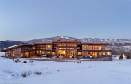 $8.875 Million Mountaintop Contemporary Home In Basalt, CO
