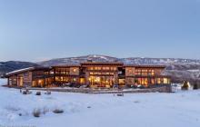 $8.875 Million Mountaintop Contemporary Home In Basalt, CO