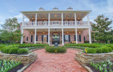 $4.5 Million Brick Colonial Mansion In The Woodlands, TX