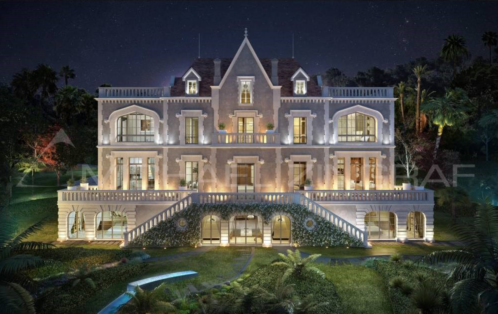 An Exceptional Renovated 19th Century Castle In Cannes