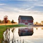 Pond & Barn
