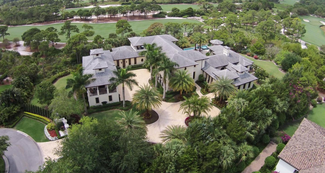 Million british west indies inspired mansion in for Mega mansions in florida