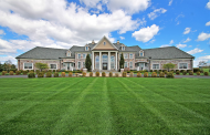 $3.2 Million 11,000 Square Foot Colonial Mansion In Pittstown, NJ