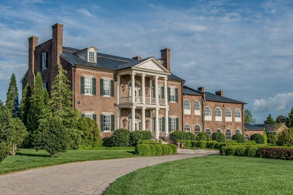 Gallatin (TN) United States  City pictures : Home United States Homes $6.9 Million Historic Lakefront Brick Mansion ...