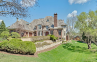 $3.9 Million Brick Mansion In Burr Ridge, IL
