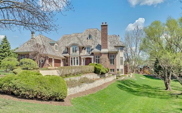 $3.9 Million Brick Mansion In Burr Ridge, IL