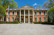 $6.95 Million Brick Georgian Mansion In McLean, VA