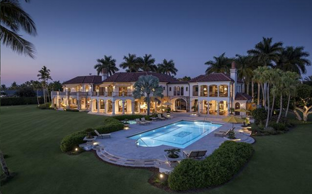 Updated Pics Of A $49 Million Waterfront Mansion In Naples, FL