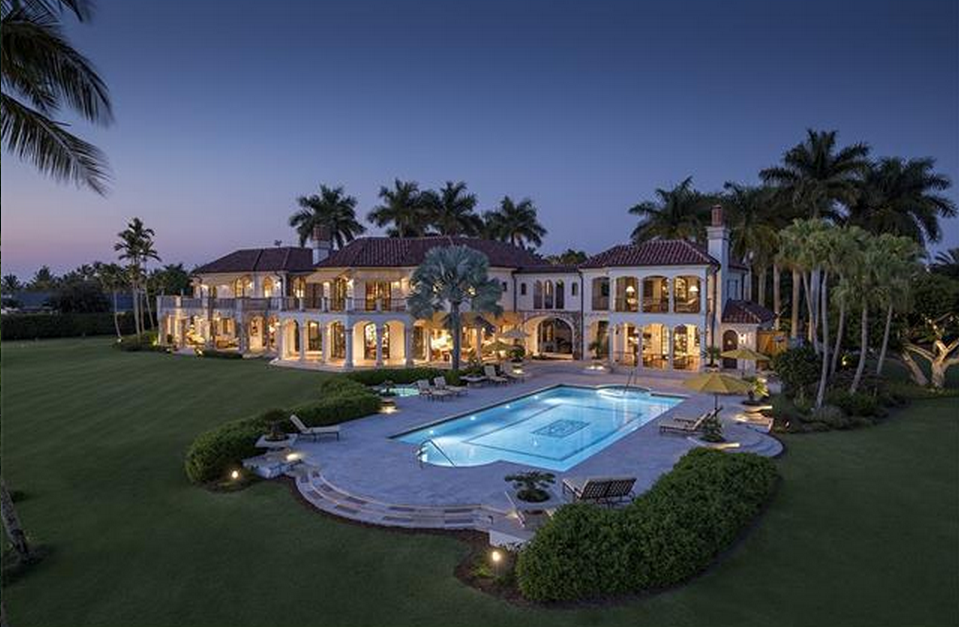 Updated Pics Of A 49 Million Waterfront Mansion In Naples