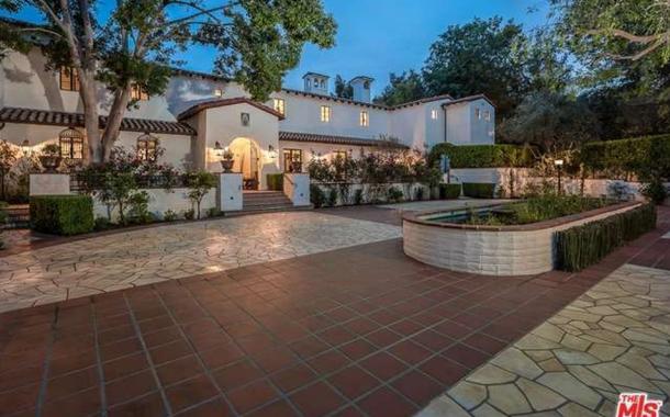 $45 Million Spanish Style Estate In Los Angeles, CA