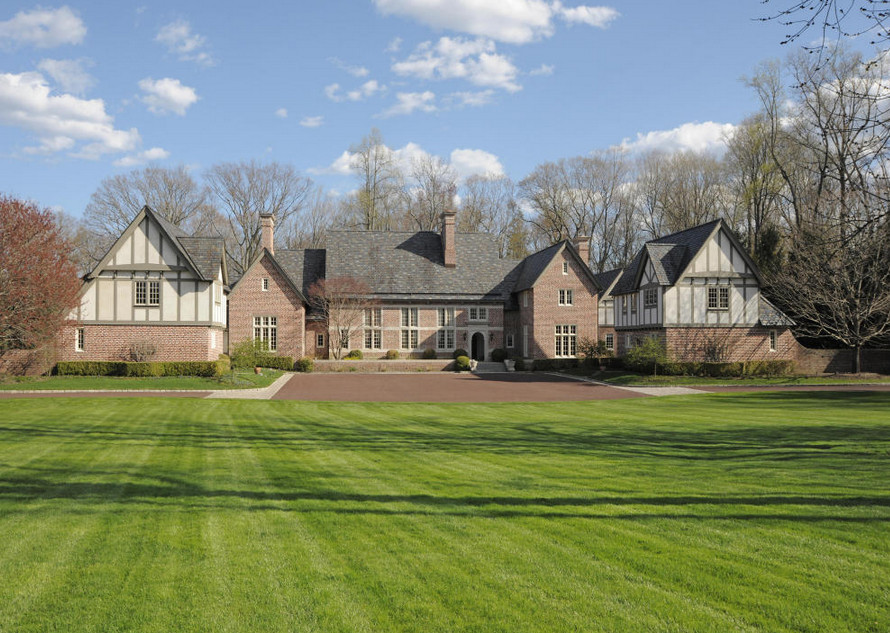 $13.9 Million Brick English Mansion In Greenwich, CT