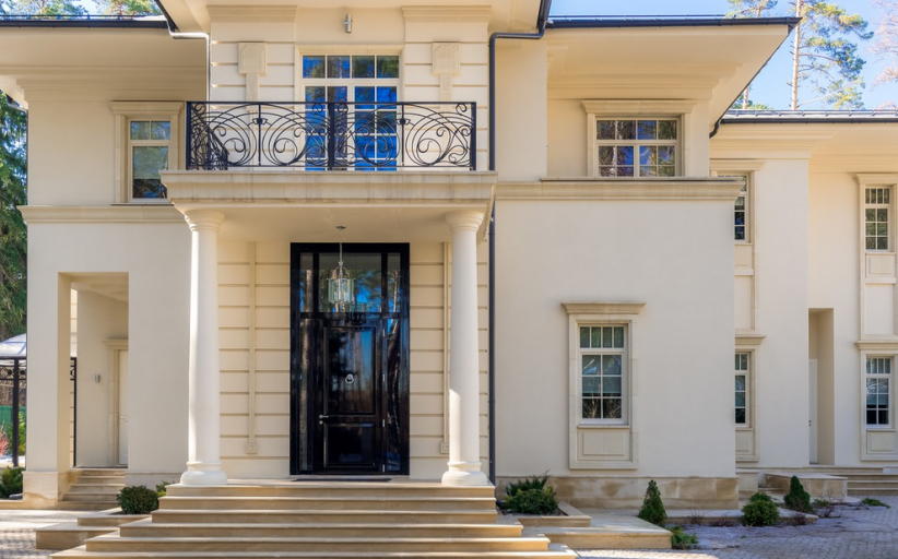 $11 Million Newly Listed Neoclassical Mansion In Moscow, Russia