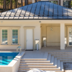 Pool & Pool/Guest House