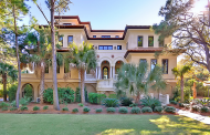 $12.25 Million Oceanfront Mansion On Johns Island, SC