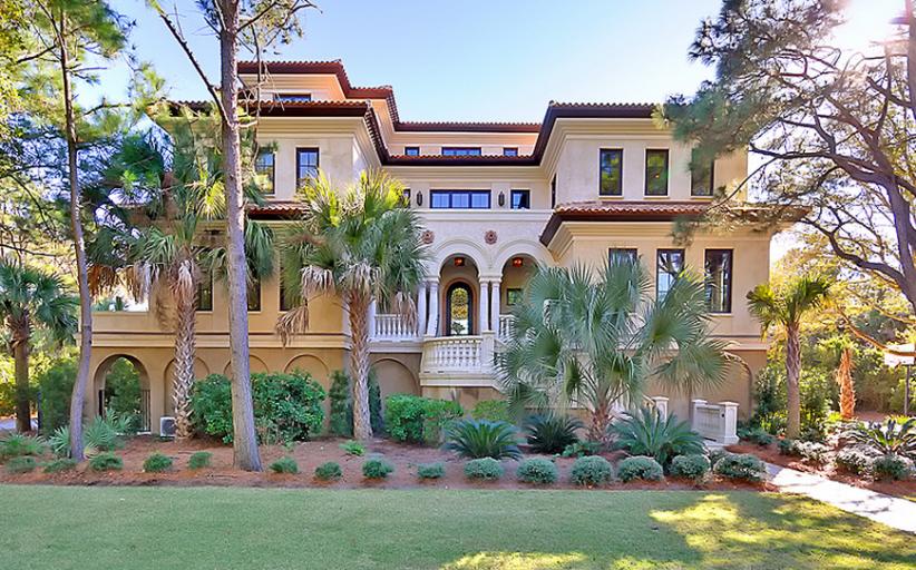 $12.25 Million Oceanfront Mansion On Johns Island, SC