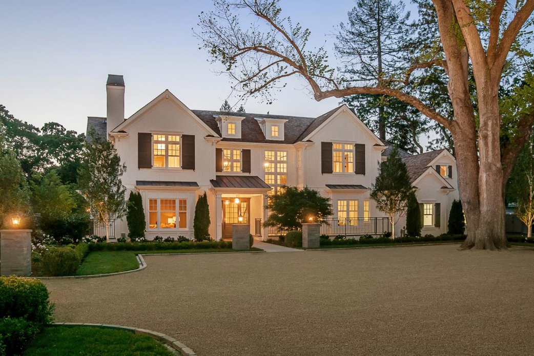 $19.75 Million Newly Built Traditional Estate In Atherton, CA