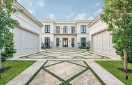 $31.75 Million Newly Built Neoclassical Waterfront Mansion In Miami Beach, FL