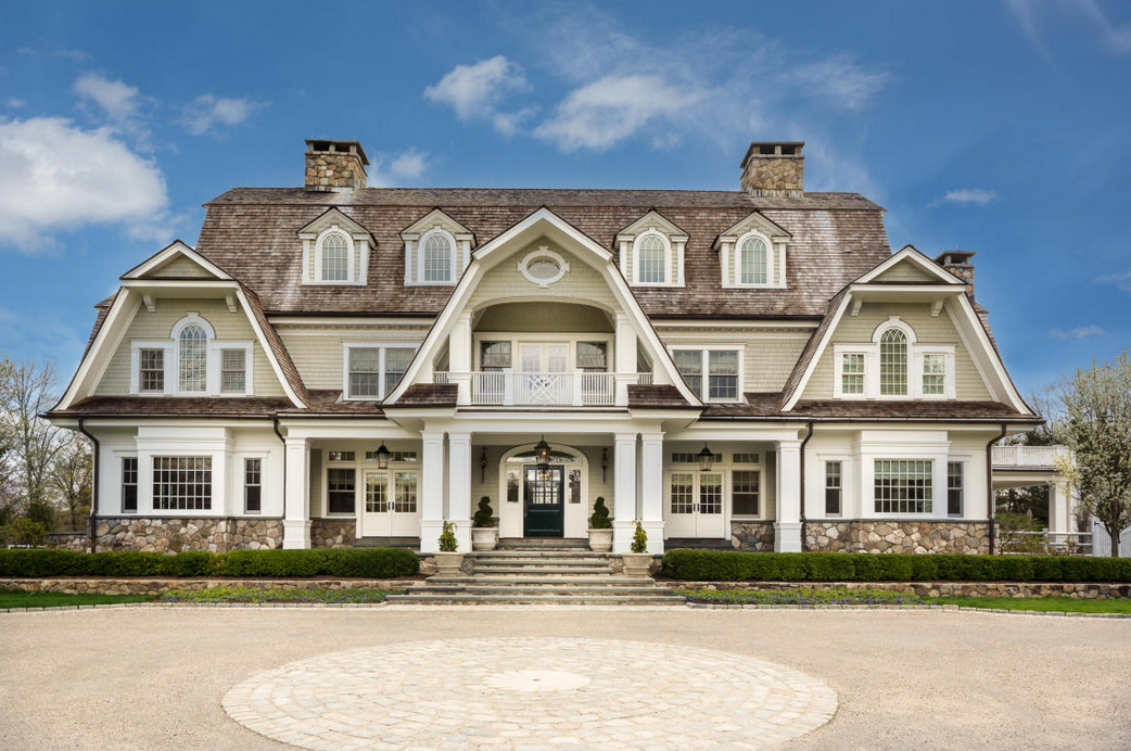 8 9 Million Gorgeous Stone Amp Shingle Colonial Mansion In