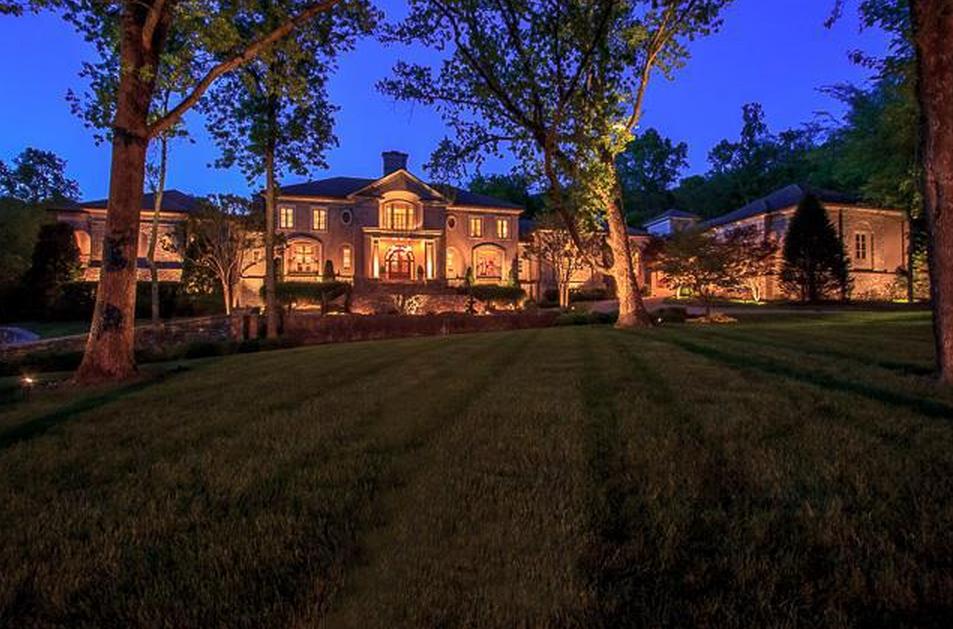 $6.9 Million 20,000 Square Foot Mansion In Franklin, TN